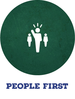 Metro Diner People First Value Icon