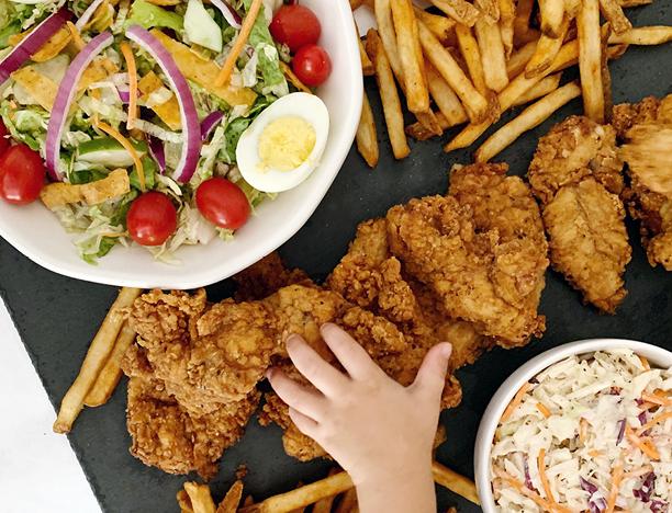 Fried Chicken Tenders Family Value Combo