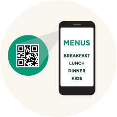COVID Safety Precautions - Contactless Menus