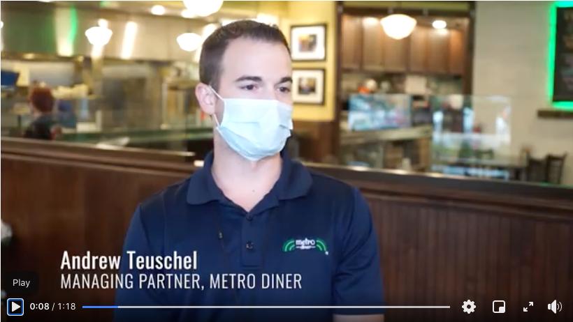Metro Diner Health & Safety Efforts