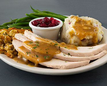 Roasted Turkey Plate