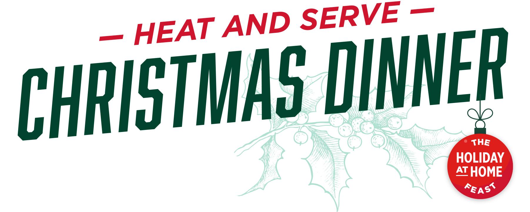 Heat & Serve Christmas Dinner