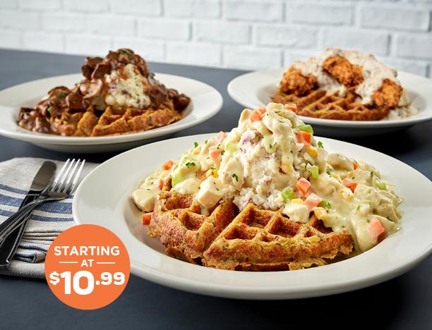 Stuff N Waffles - starting at $10.99