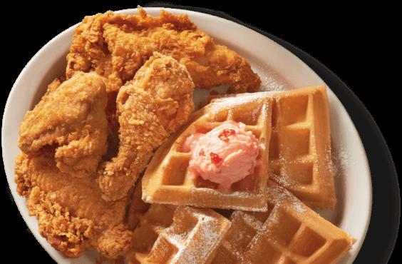 Love of Food Chicken & Waffles