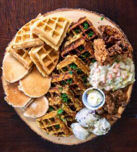 waffle and pancake board
