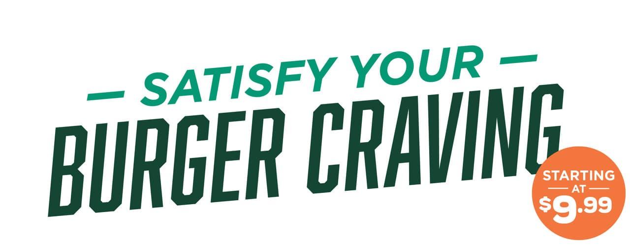 Satisfy Your Burger Craving